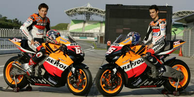 Repsol Honda 2006 Team