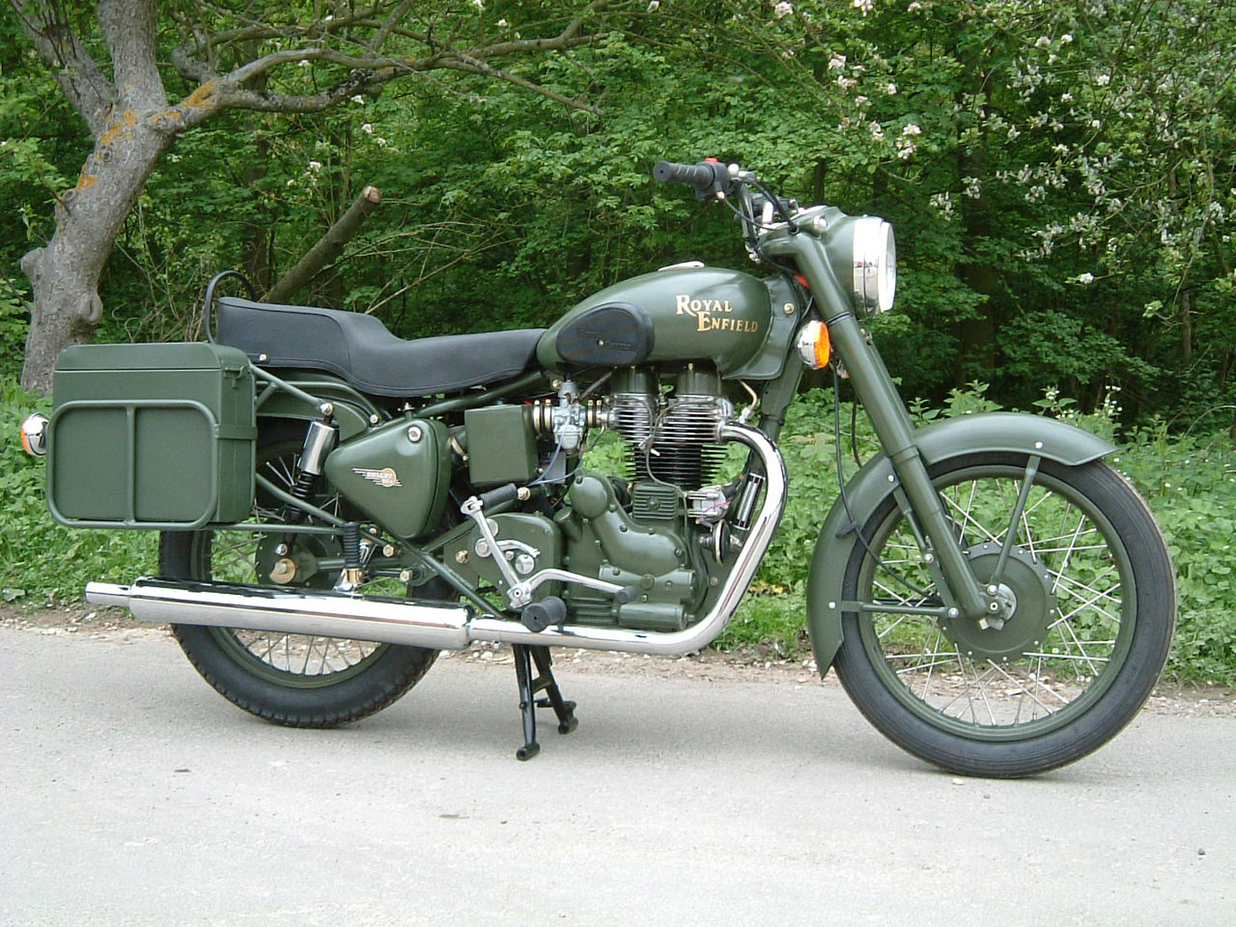 The 2005 Royal Enfield Motorcycle Range