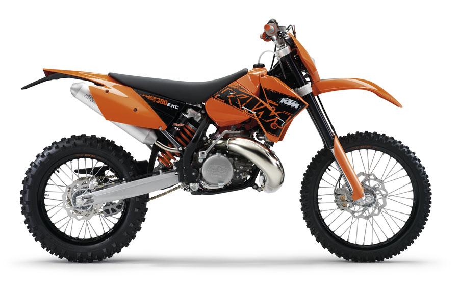2007 ktm 300 exc  engine