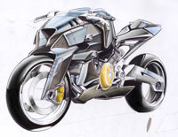 2008 aprilia v4 motorcycle