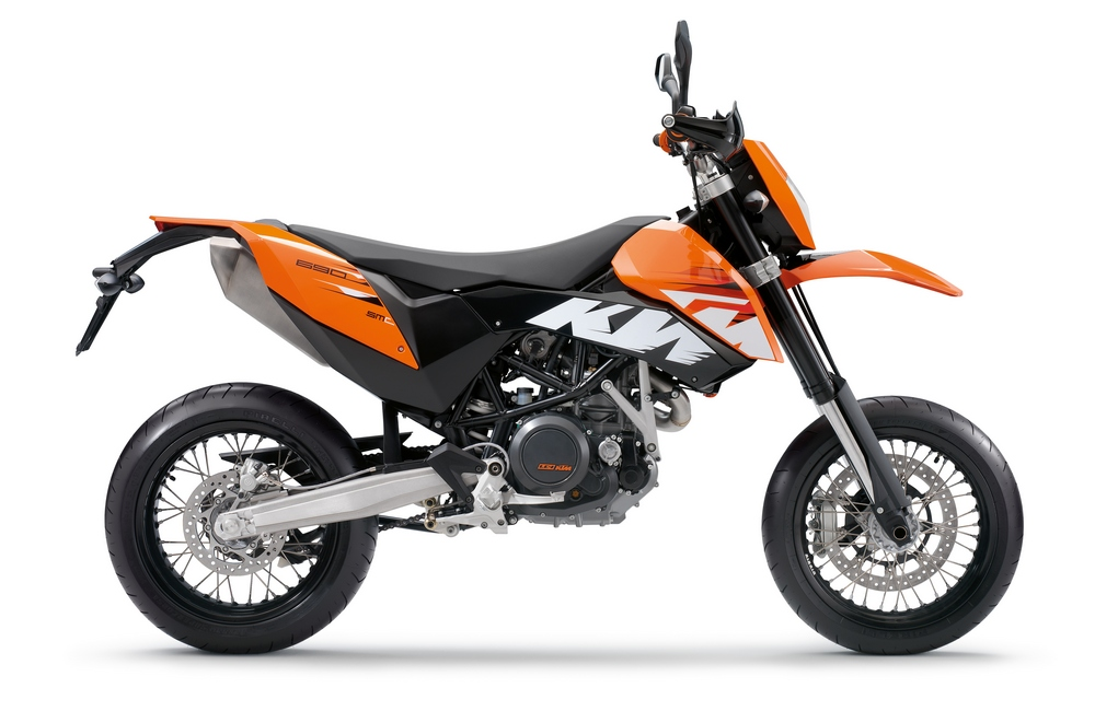2009 KTM 690 SMC Motorcycle