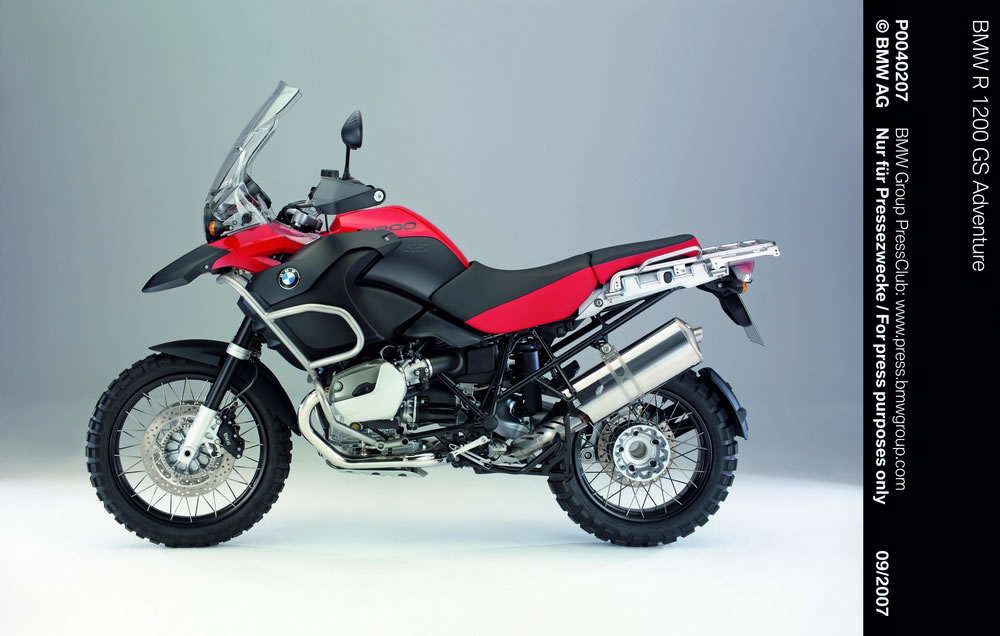 Summary of the main features of the bmw r 1200 gs adventure