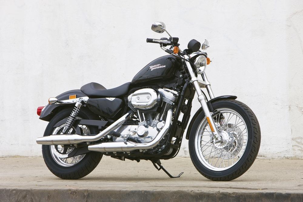 2009 Harley Davidson Xl883 Sportster