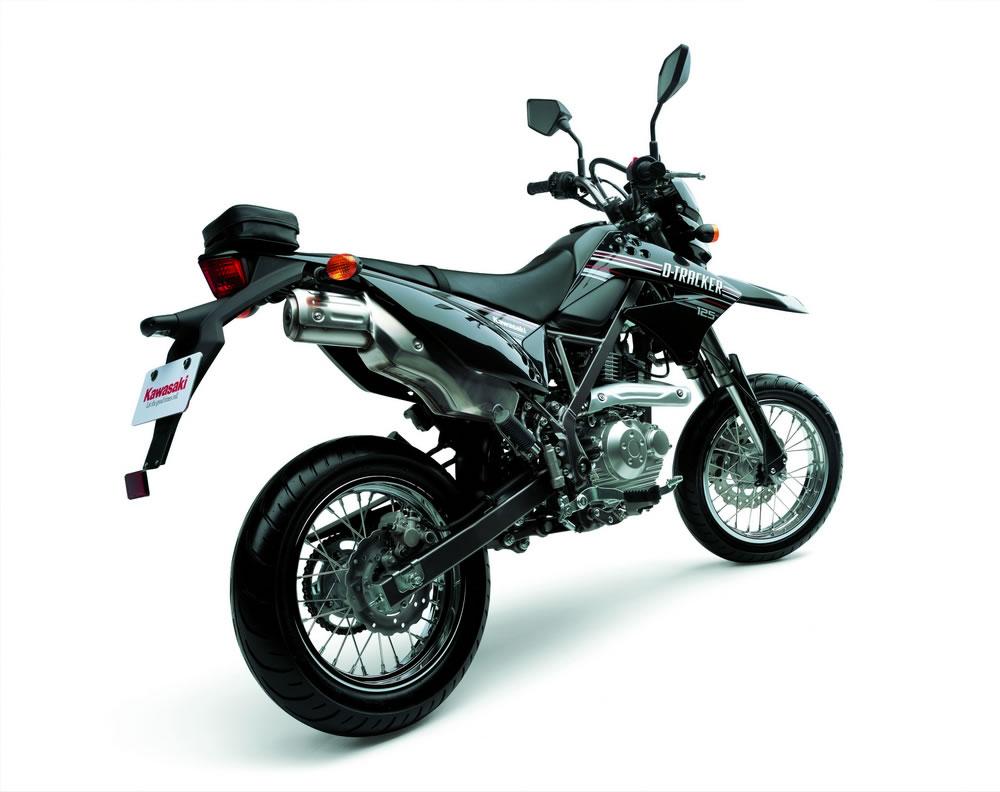 2010 Kawasaki KLX125 And D Tracker 125