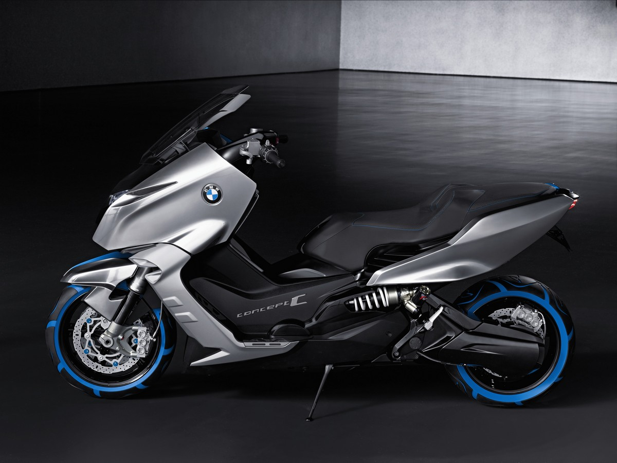 Bmw Concept C The Scooter Of The Future Made By Bmw Motorrad