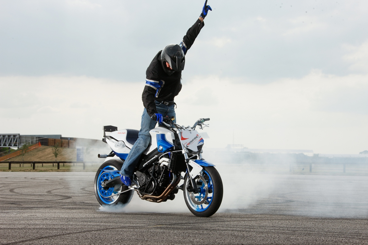 Stunt Ace Mattie Griffin Joins Forces With Bmw Motorrad