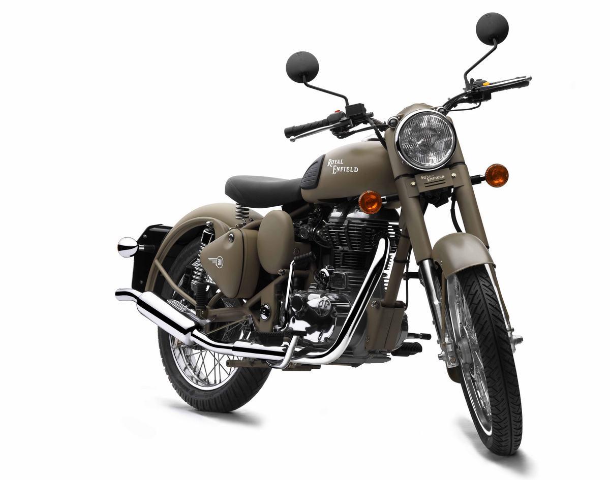 2012 Royal Enfield Motorcycles