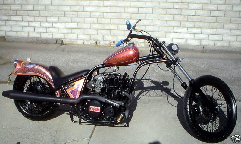 1982 Kawasaki Csr 650 Bobber