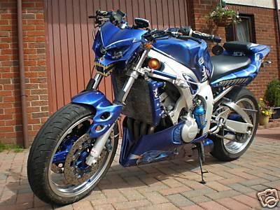 Yamaha custom motorcycles for Yamaha r6 aftermarket mirrors