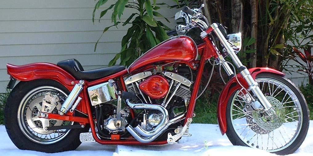 Hot Rod Harley >> 1976 Harley Davidson Shovelhead Hot Rod