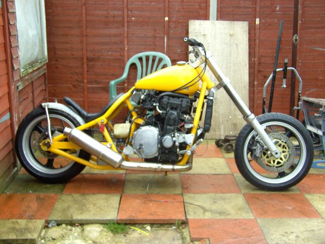 Honda Custom Motorcycles on cb 750 engine rebuild