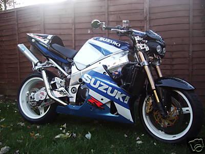 Custom Suzuki GSXR Motorcycles