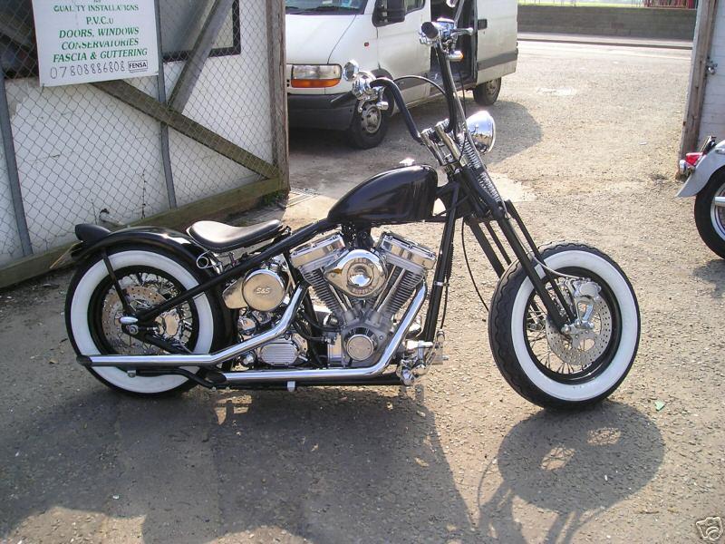 Images of Harley Davidson Custom Bobber - www industrious info