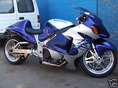 2000 Suzuki Hayabusa Turbo Drag Bike