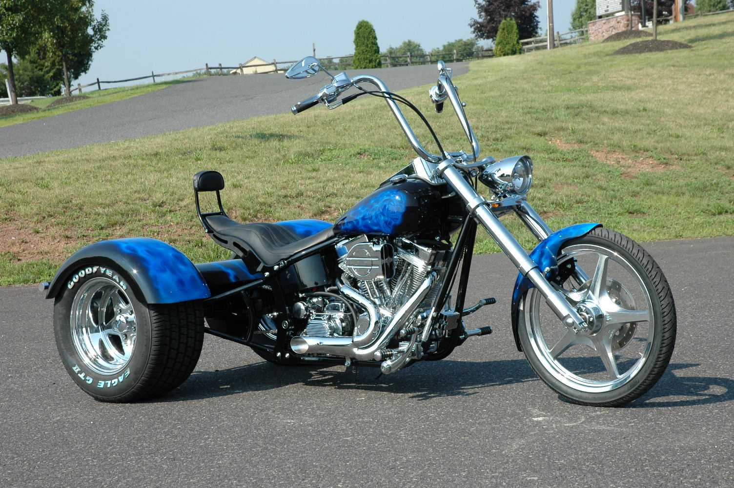 Harley Davidson Trikes on