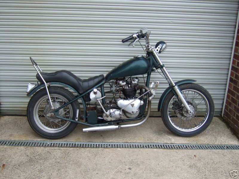Vintage Triumph Motorcycle Choppers 800 x 600 · 101 kB · jpeg