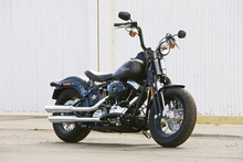Harley Davidson FLSTSB 'Cross bones' Bike Review