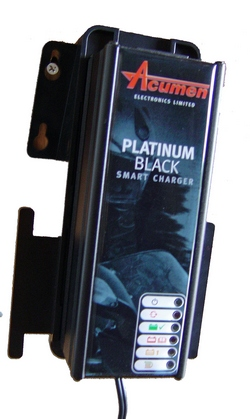 New Platinum smart charger in black