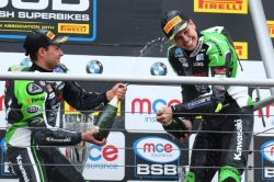 Mossey celebrates debut MCE BSB win - then makes it a double at Brands Hatch!