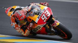 Marquez and Pedrosa fast but out of luck in French qualifying