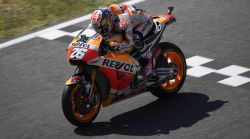 Second-row start for Pedrosa and Marquez in hard-fought Italian qualifying