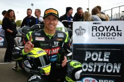 Astonishing lap puts Ellison on pole for McAMS Yamaha at Brands Hatch