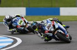 LOWES & VOLTCOM CRESCENT SUZUKI TOP-6 AT DONINGTON