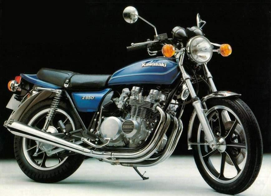 1980 Kawasaki Z 650F