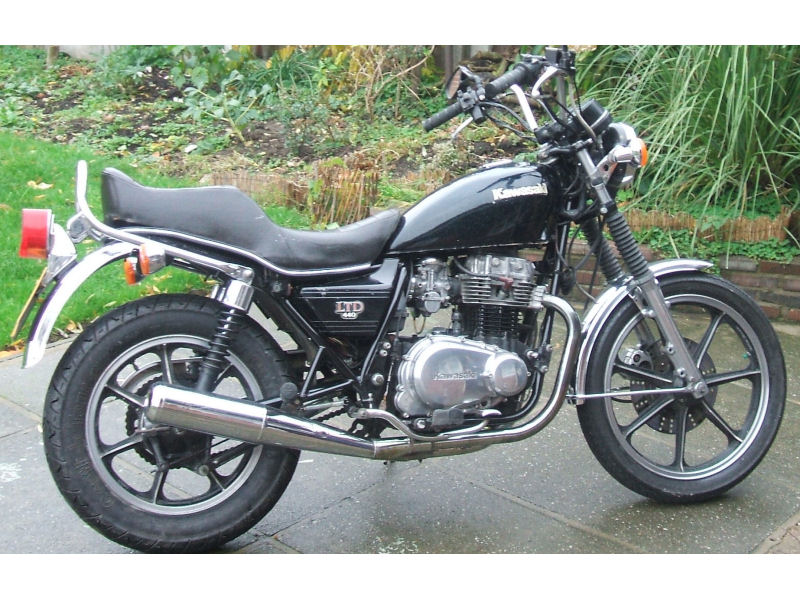 Super Motos  kawasaki ltd 440