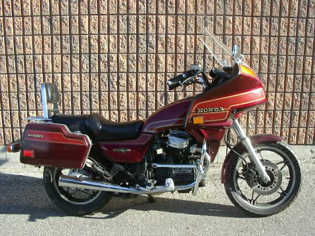 Silver Wing on Honda Silverwing Gl500 Motorcycle For Sale