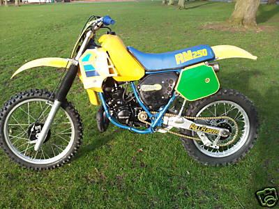 Suzuki on Suzuki Rm250 Gallery