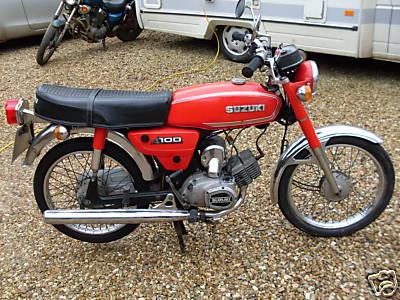 Old Red Suzuki Red