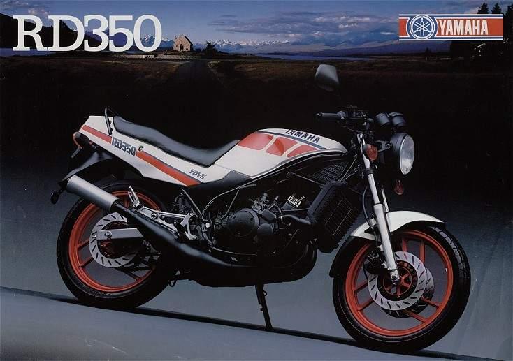 1987 yamaha rd 350 gallery