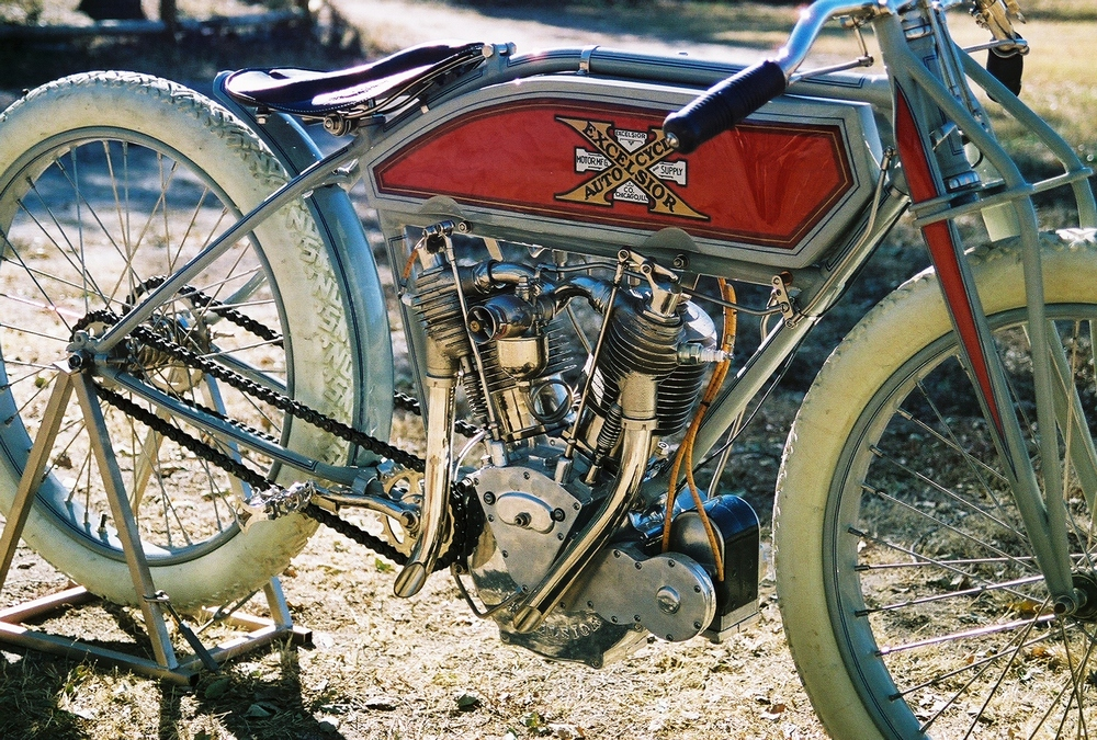 1914 Excelsior Twin Boardtrack Racer