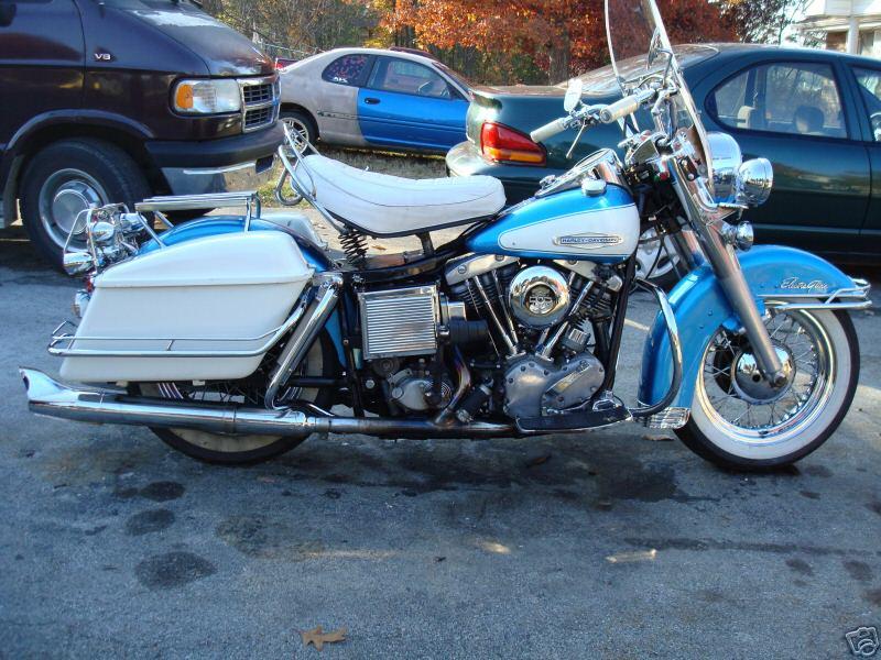 Factory H-D Shovelhead Collectible models  - Harley Davidson