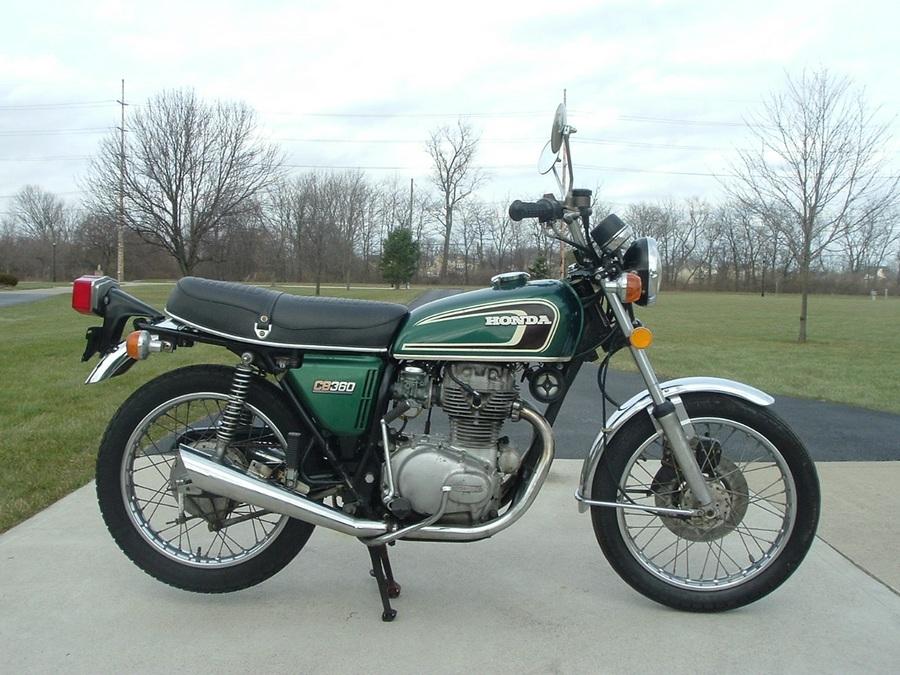 Honda CB360 Gallery