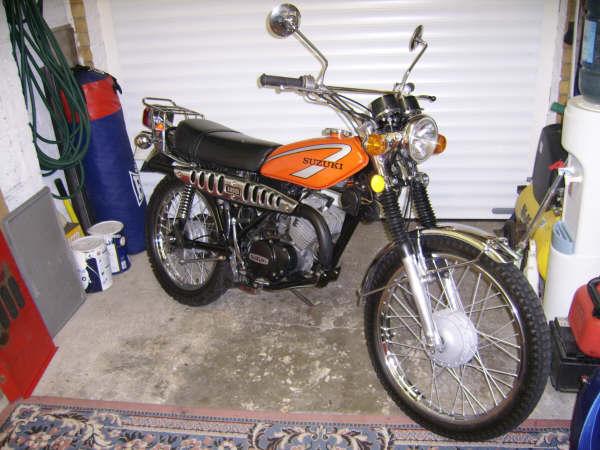 Suzuki TS185 Gallery