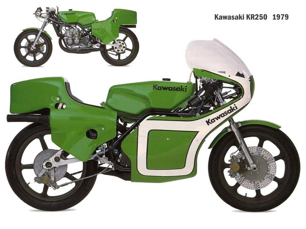 Kawasaki Kr250 History