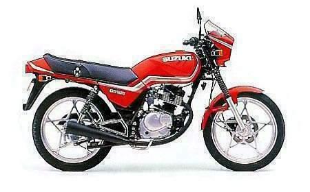 Suzuki Single Cylinder Motorcycle