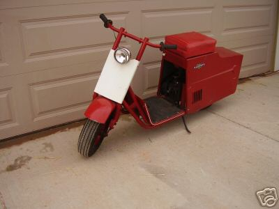 1960 sears allstate scooter
