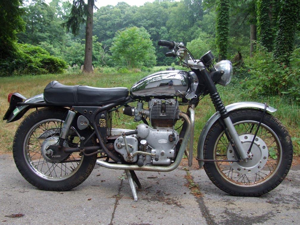totalbike tesztek vincent rapide c 1952