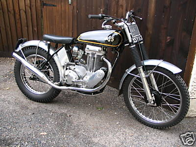 Ajs Matchless 400 Ajs Matchless 400 Pre 65 Trials Rigid