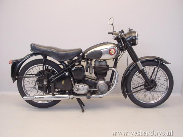 1955 BSA C11, 250cc