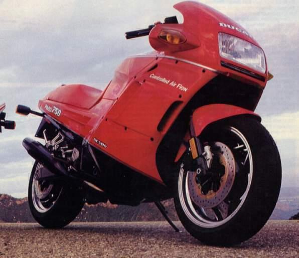 Ducati Paso Motorcycle Worth