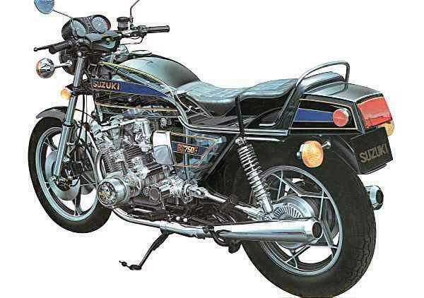 Gs G on 1980 Suzuki Gs750