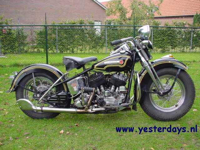 Harley Davidson Sportster 48. 1948 Harley-Davidson 48-U,