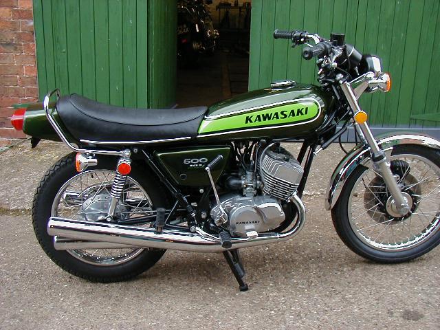 Kawasaki H1 500 Mach III