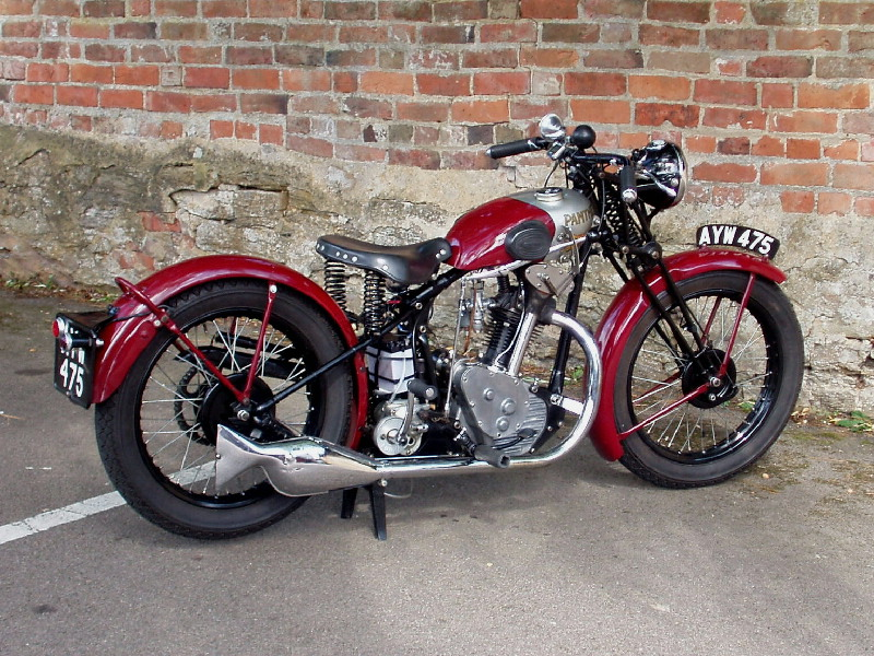 1934 Red Panther 250cc Two Wheelers Pinterest