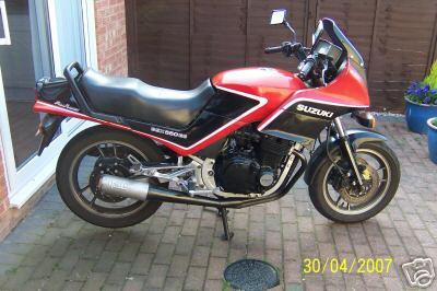 Suzuki Gs Ese on 1981 Suzuki Gs550l