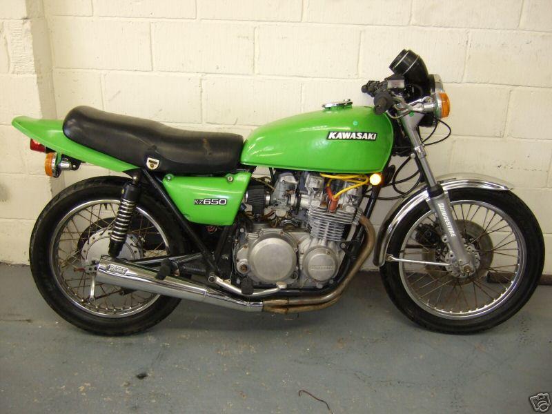 1978 Kawasaki Z650 B